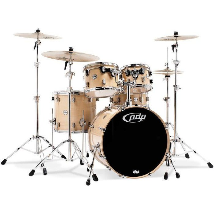 PDP: Concept Maple Shell Pack - 5-piece - Natural Lacquer