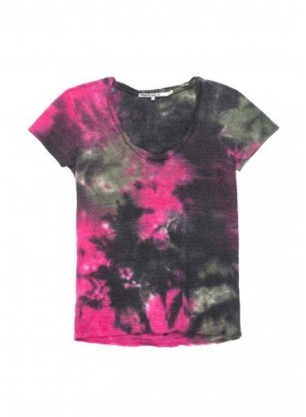 Pam and Gela Pink Camo Sophie Tee