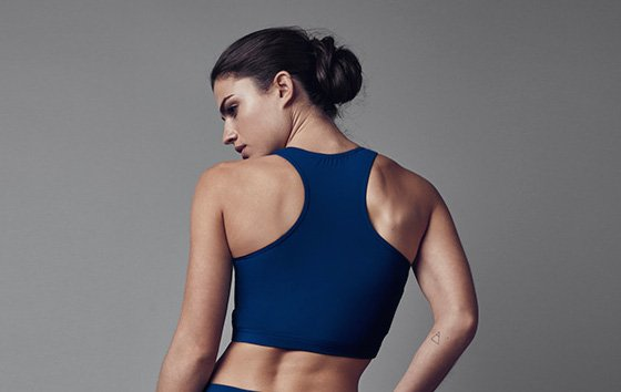 Luxe Staple Bra Electric