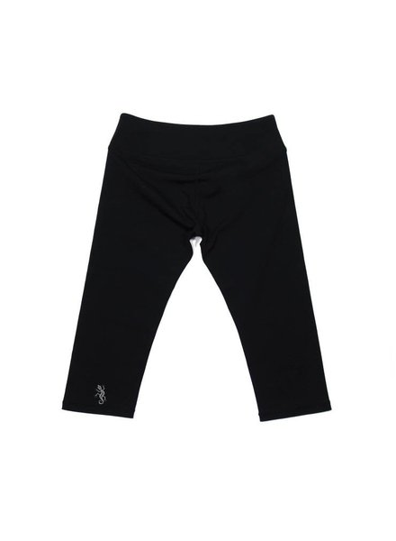Studio Only Poppy Black Capri