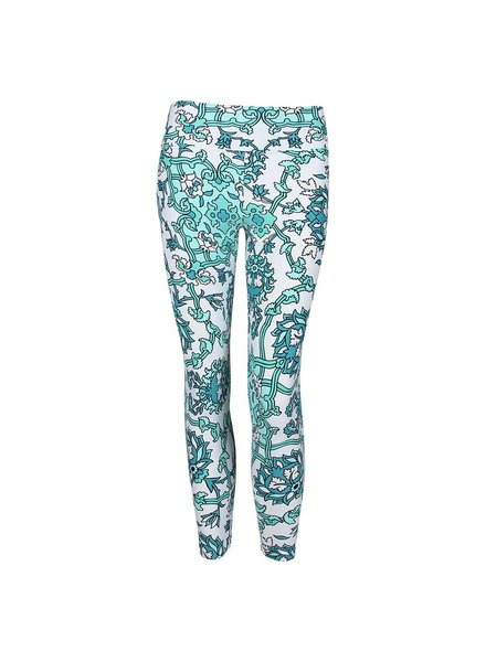 Liquido Florentine Green Leggings