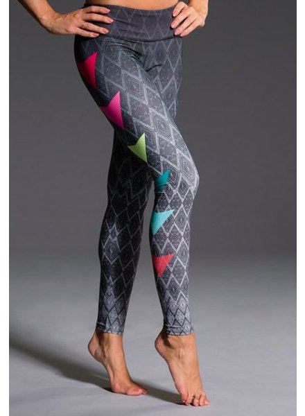 Onzie Side Pop Colorful Leggings