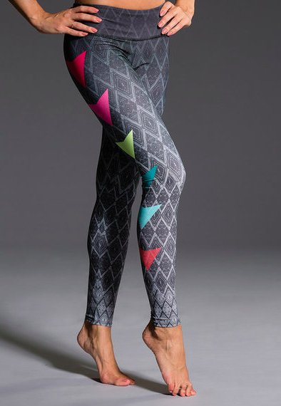 Onzie Side Pop Colorful Leggins