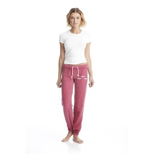 LAZYPANTS Niki Fleece Raspberry Sweatpant