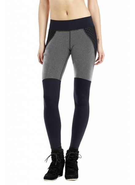 michi Shadow Heather Grey Leggings