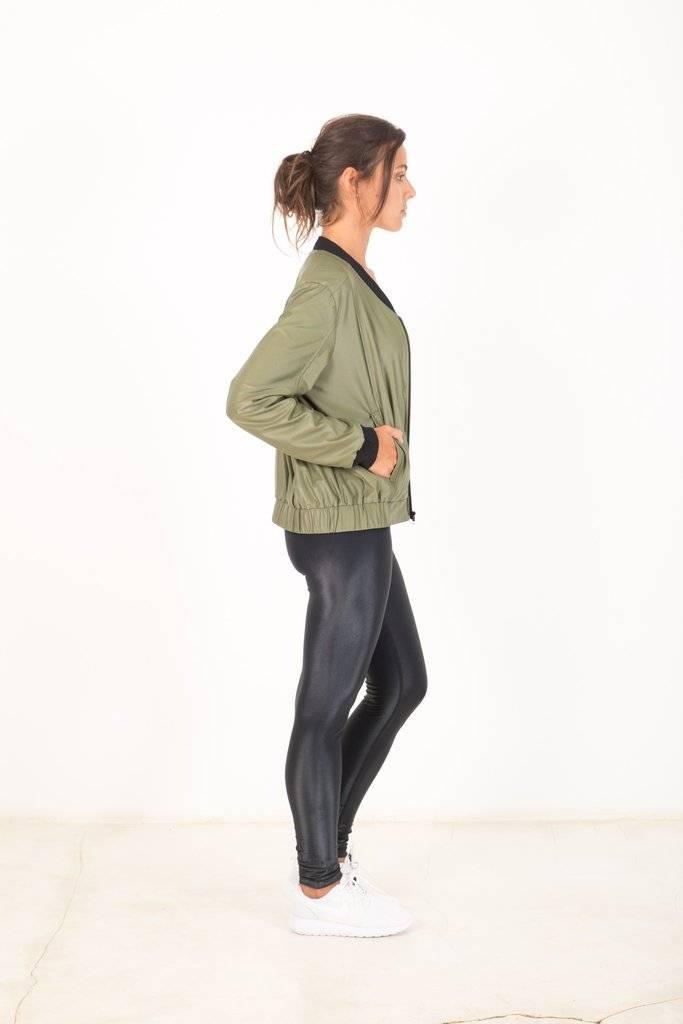 Vixen Bomber Jacket Green
