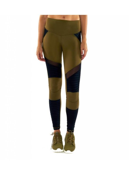 L'urv Fever Pitch Moto Legging Olive