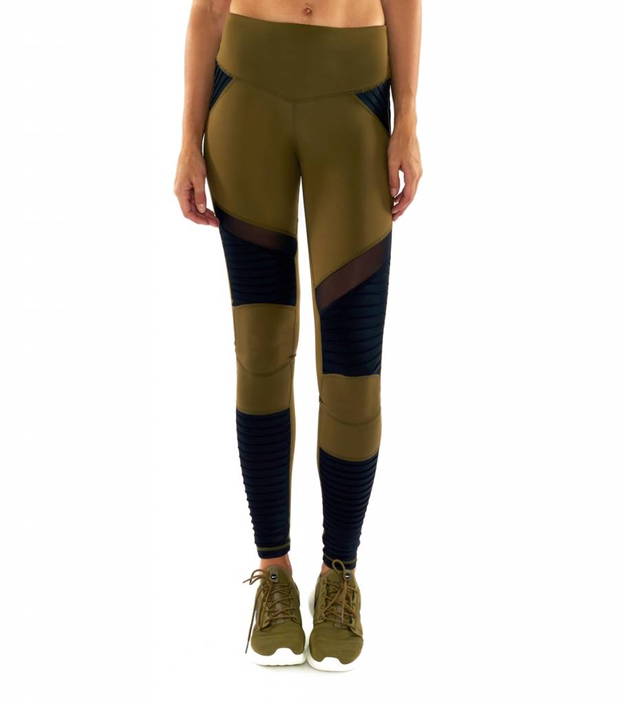 moto leggings olive. l\u0027urv fever pitch moto legging olive leggings l