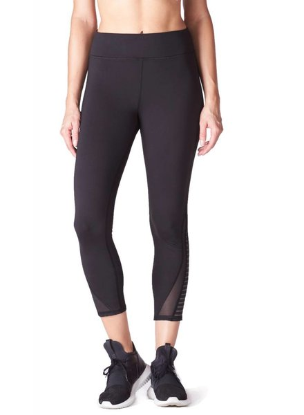 michi Apex Black Capri