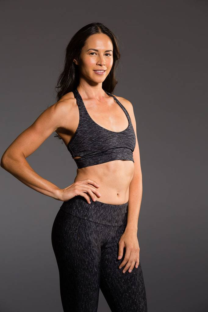 Onzie Wrap Bra Heather Gray