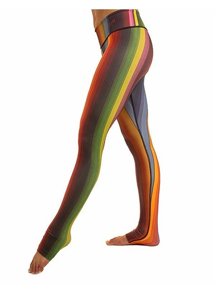 Body Angel Rainbow Poncho Legging