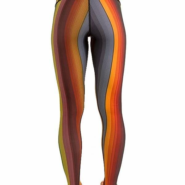 Body Angel Rainbow Poncho Legging