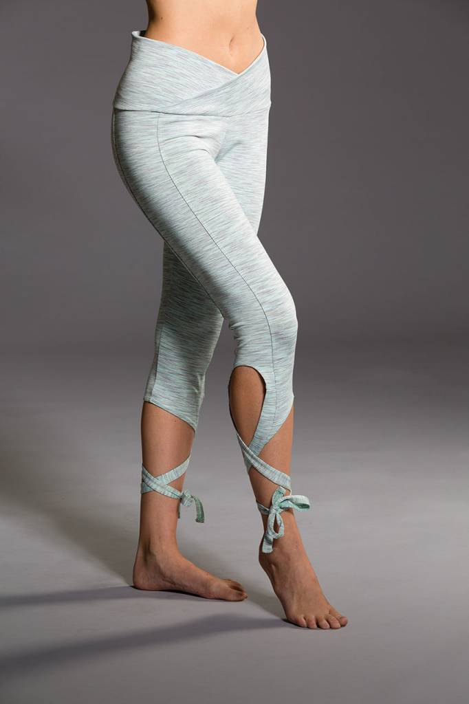 Onzie Ballerina Capri Mint Heather