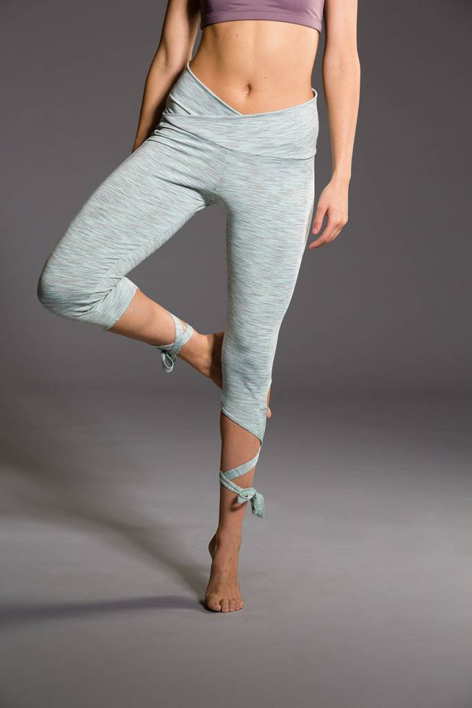 Onzie Ballerina Capri Mint Heather