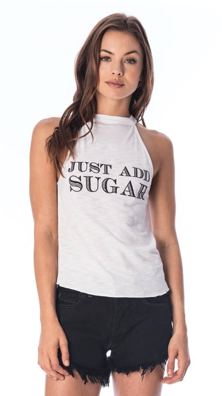 Tyler Jacobs Just Add Sugar Tank White