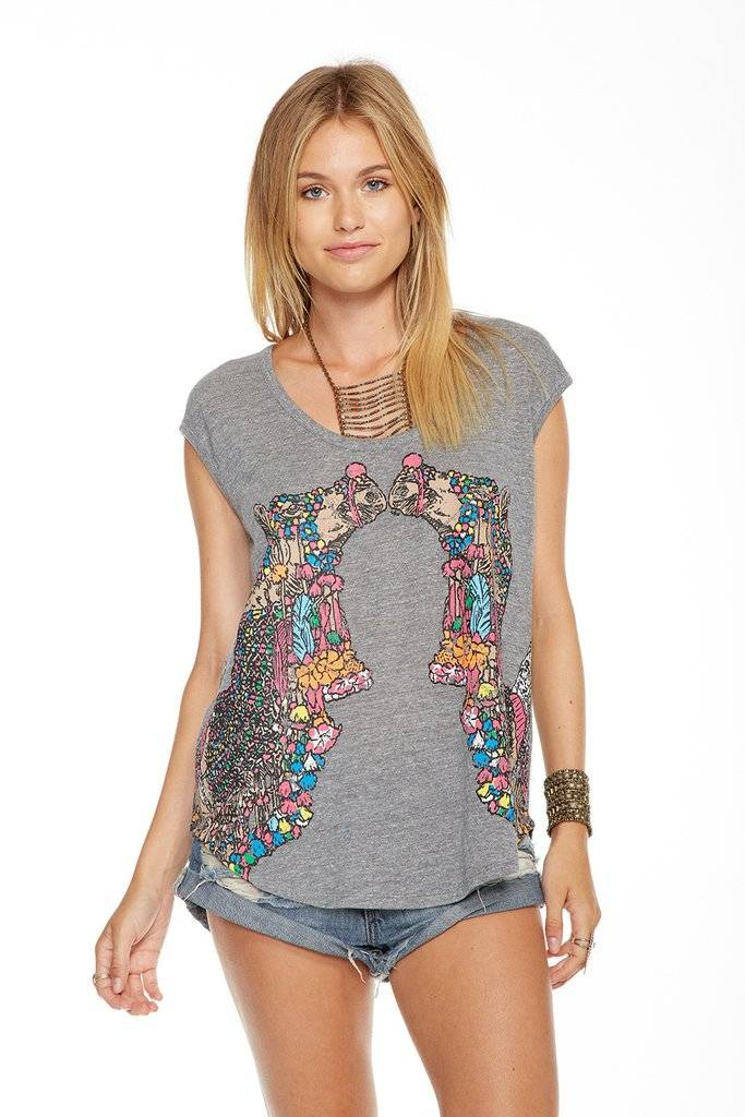 CHASER Decorated Camels Tee