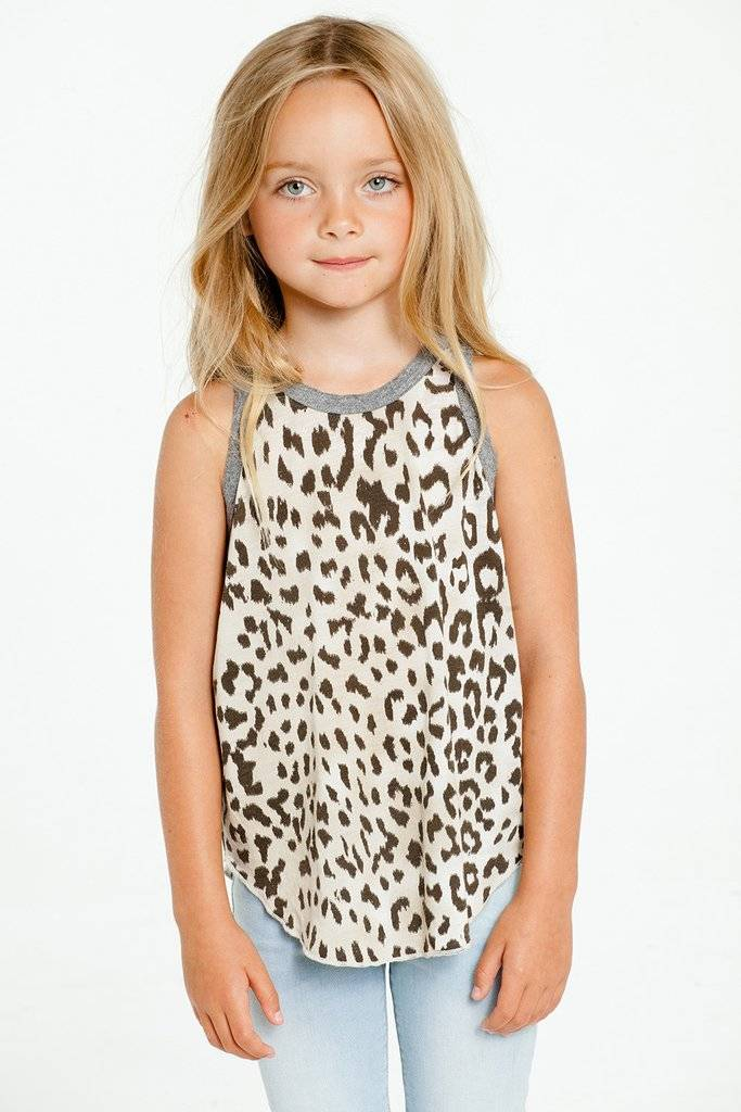 CHASER GIrls Jersey Cheetah