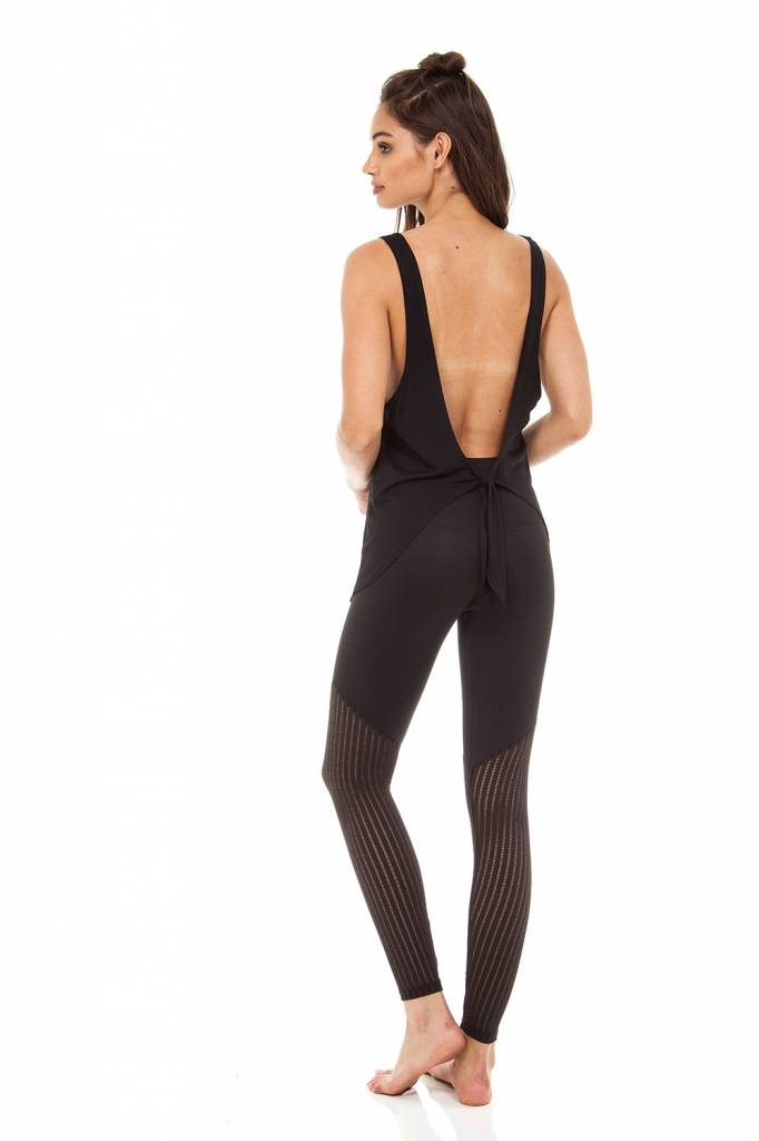 Strut This Jax Ankle Pant in Mesh