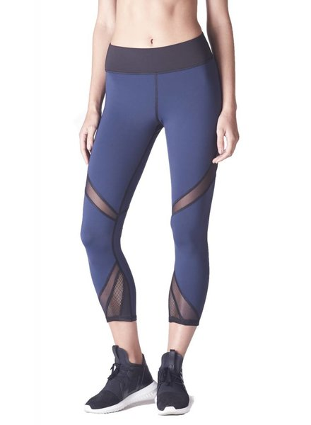michi Radiate Navy Crop Legging