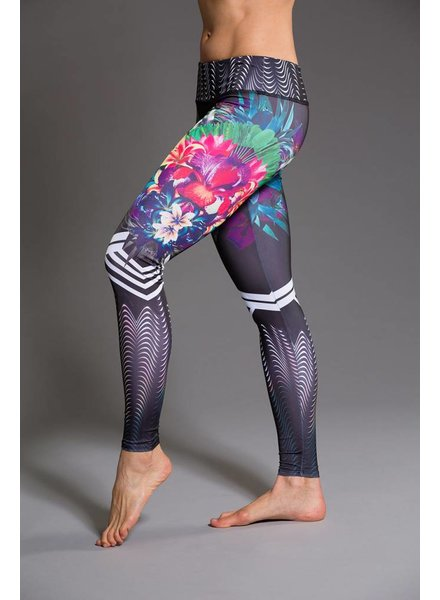 Onzie Graphic Legging Tiger Lily