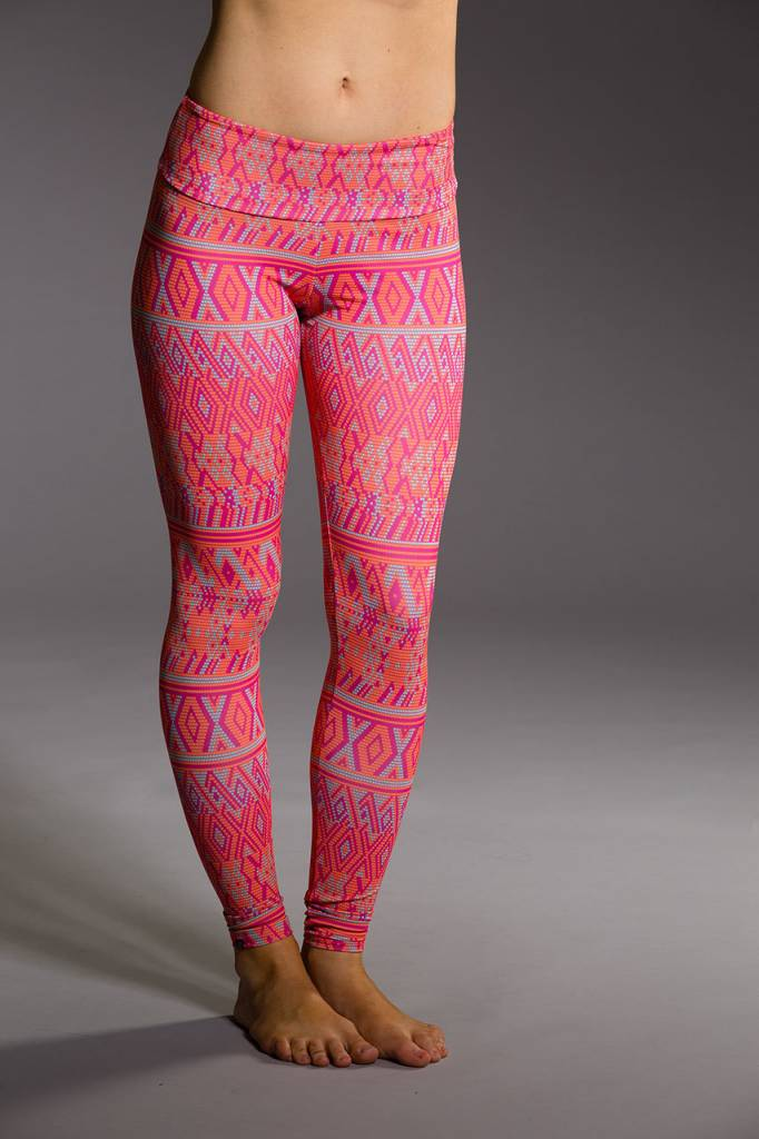 Onzie Long Legging Dusk Block
