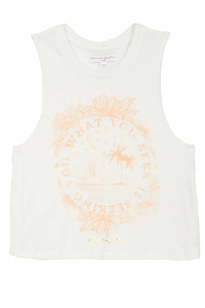 Spiritual Gangster Seeking You Crop Tank