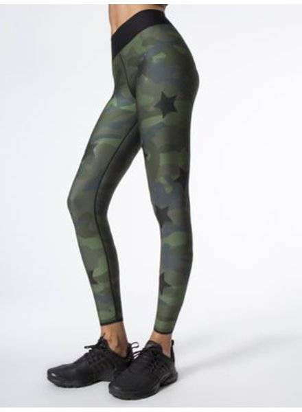 Ultra Cor Knockout Camo Green Legging
