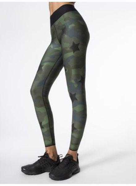 Ultra Cor Knockout Camo Green Legging