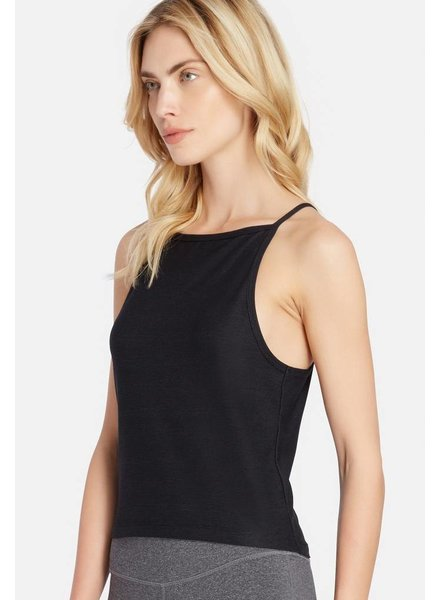 Splits59 Fly Crop Tank Black