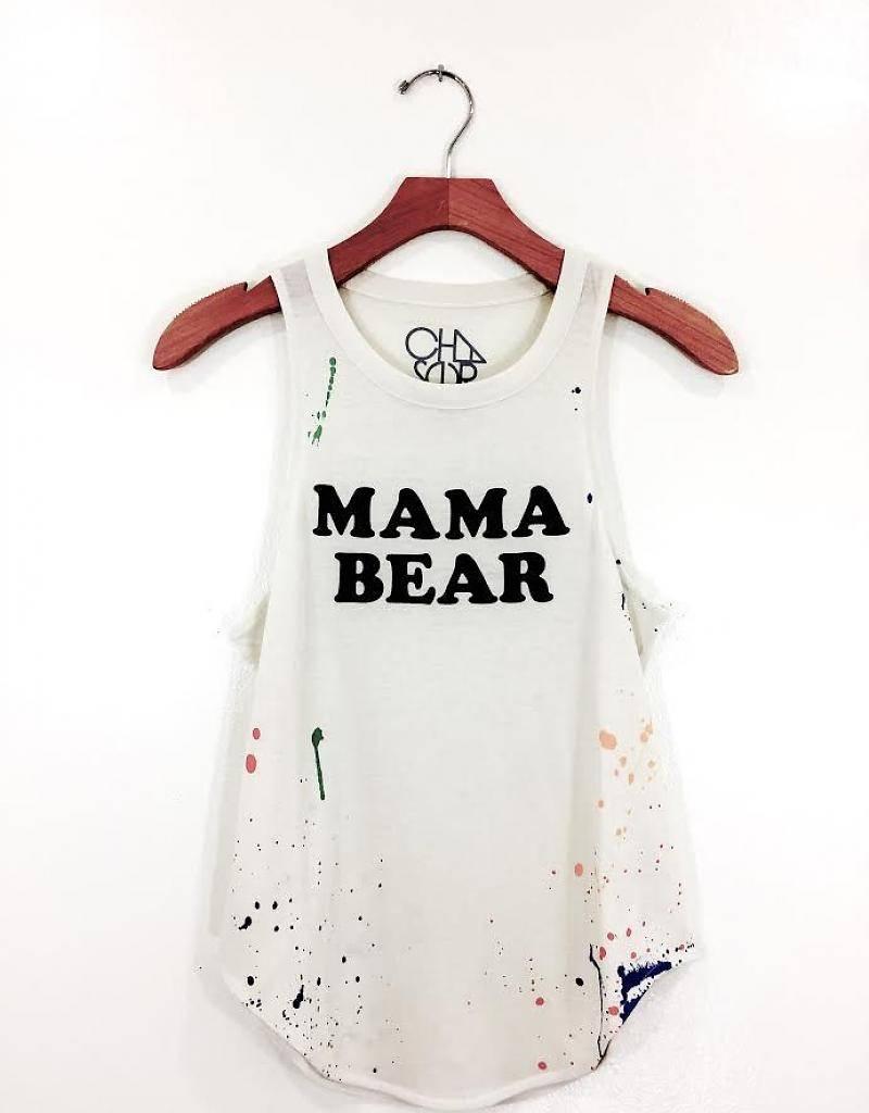 Vintage White Mama Bear XS
