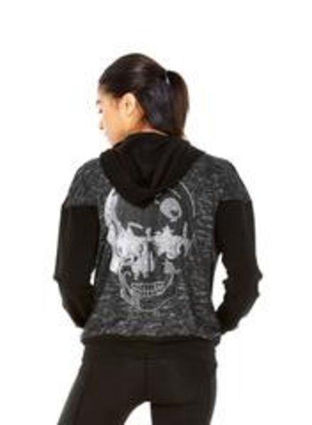 Starry Eyed Skull Hoodie
