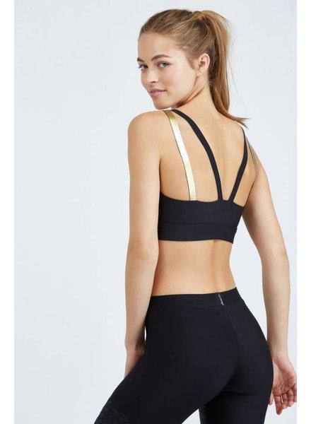 Ultra Cor Rhombus Silk Nero/Gold Bra