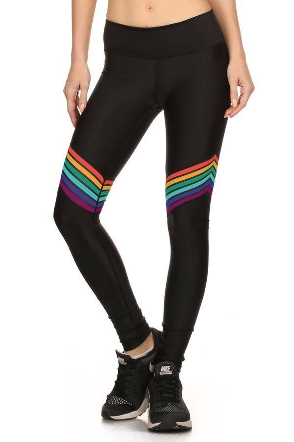 Pop Active 70s Rainbow Dream Legging