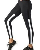 9.2.5 Sideseeing Black/White Legging