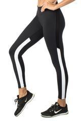 9.2.5 Sideseeing Black/White Legging