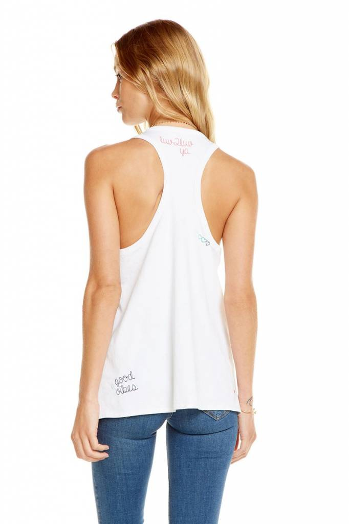 CHASER Chatty Cotton Tank