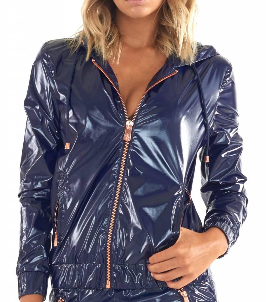 Lurv Get Glossy Jacket Navy