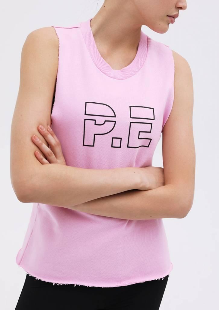 P.E. Nation Raserback Tank Pink