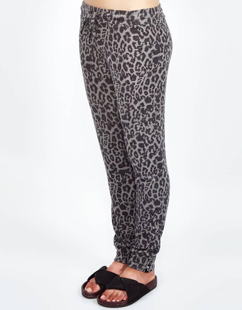 Michael Lauren Bear Sweatpant - Green Leopard