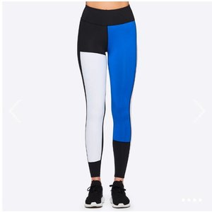 Alala Patchwork Tight Blk/Wht/Lapis