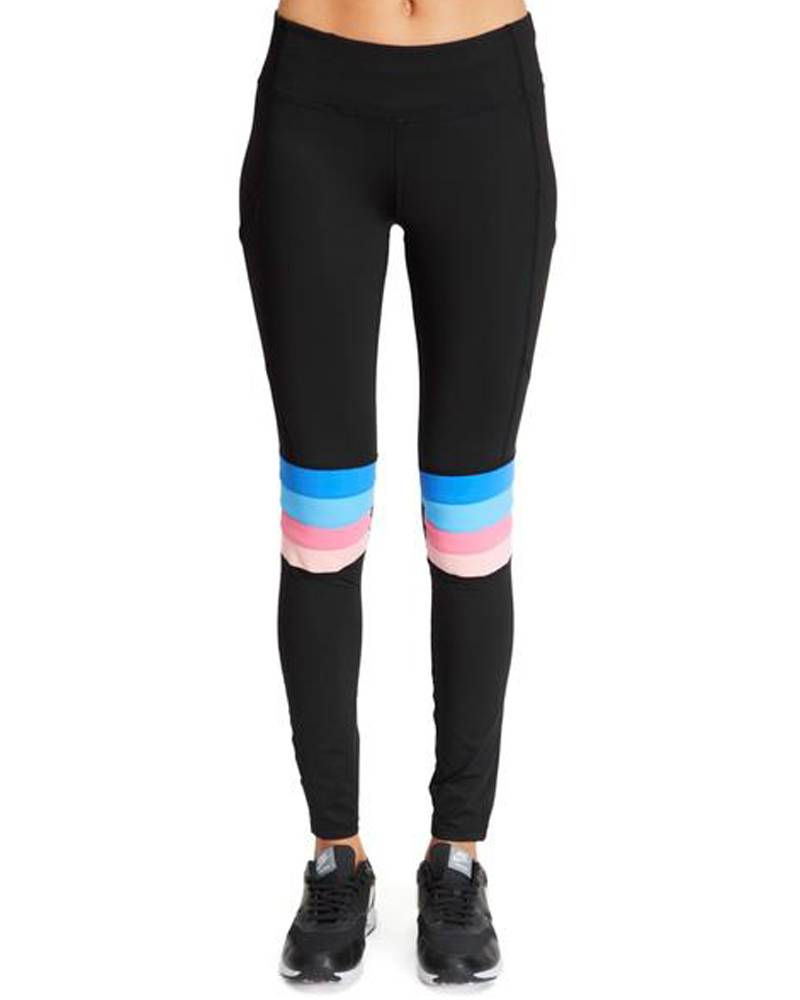 Boom Boom Motorcross Legging w/ Pocket Rainbow