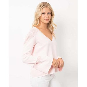 Tyler Jacobs Rose Quartz Granville Sweater