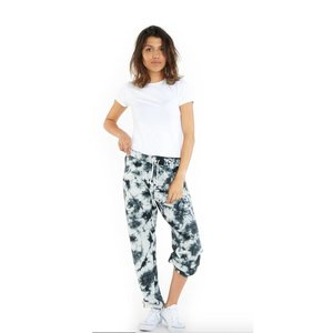 LAZYPANTS Niki Tie Dye Black/White