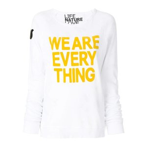 Free City Fuzzy We Are Everything Raglan