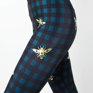 Ultracor Ultra High Hunter Legging Teal Gold