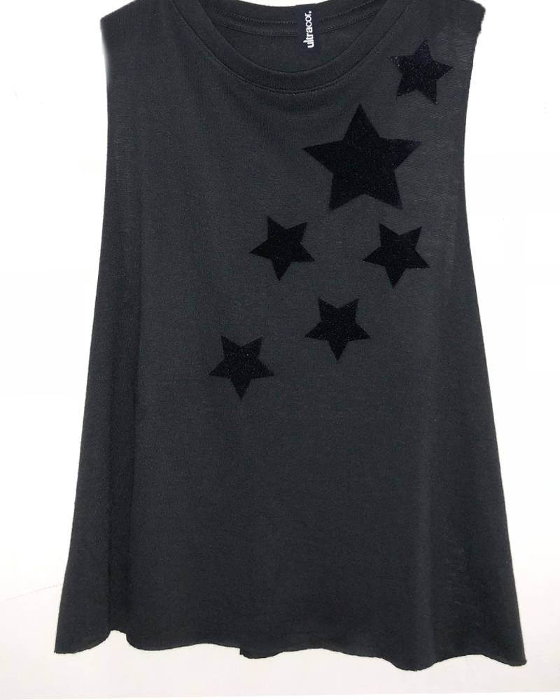 Ultracor Velvet Star Racerback Nero