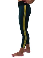 Ultracor Sprinter High Teal Quiltline Legging