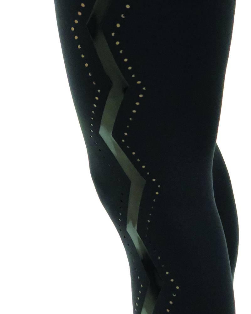 Ultracor Ultra High Serrated Legging Nero