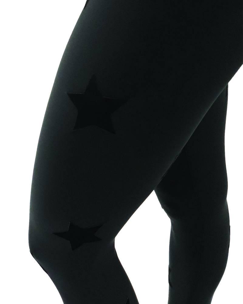 Ultracor Ultra High Velvet Star Legging Nero