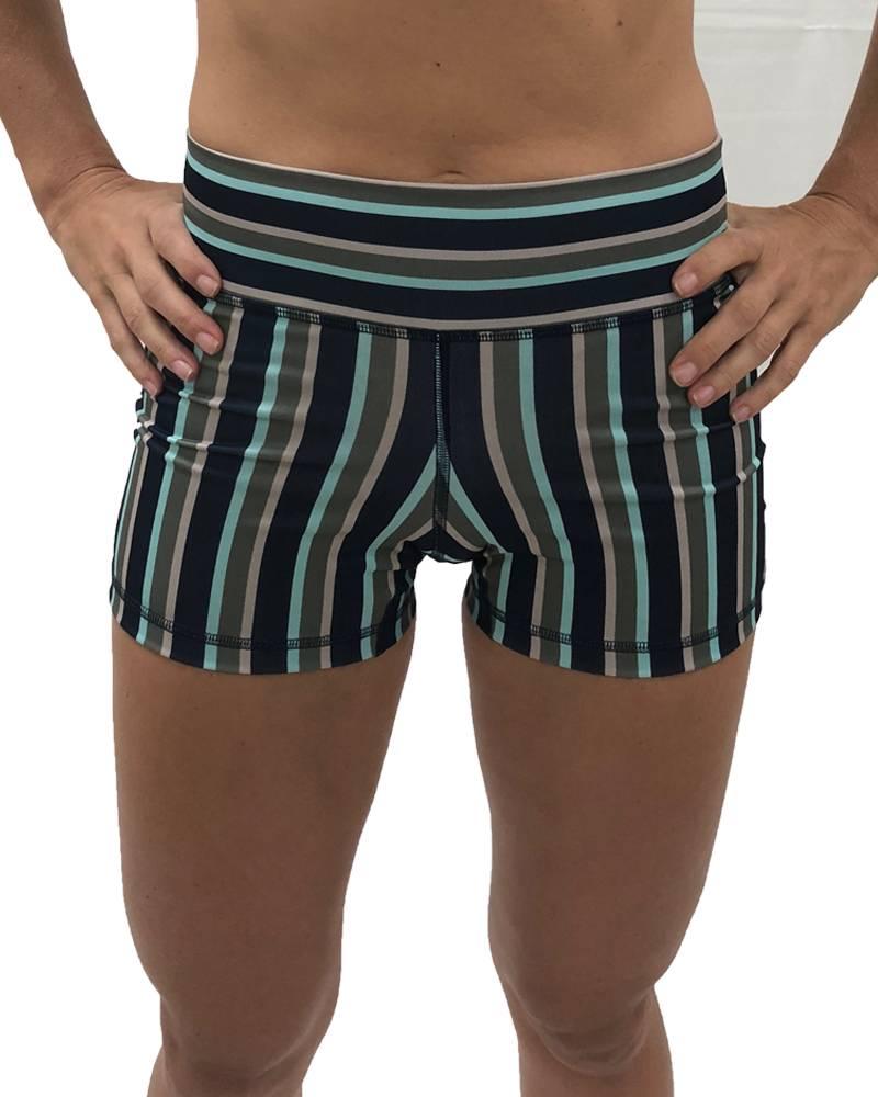 9.2.5 Worst Behavior - Navy Stripes Shorts